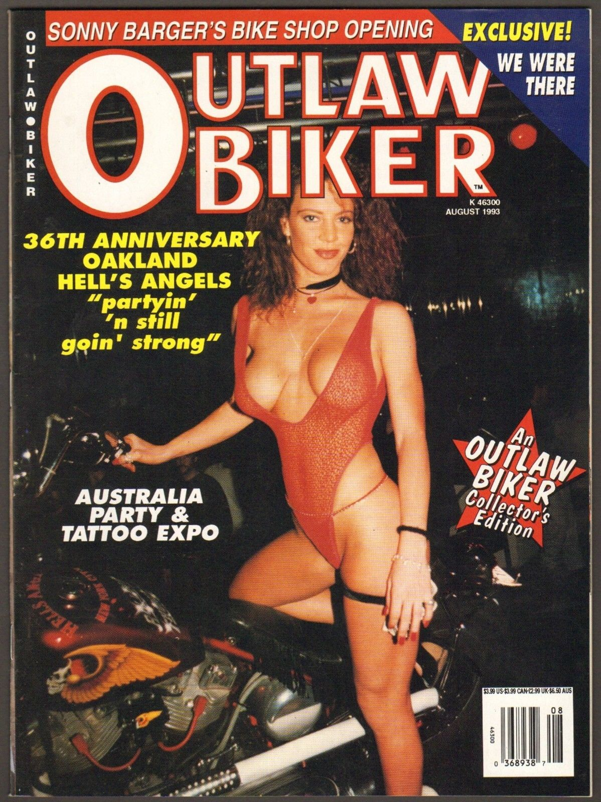 outlaw biker cover sexy redhead lingerie