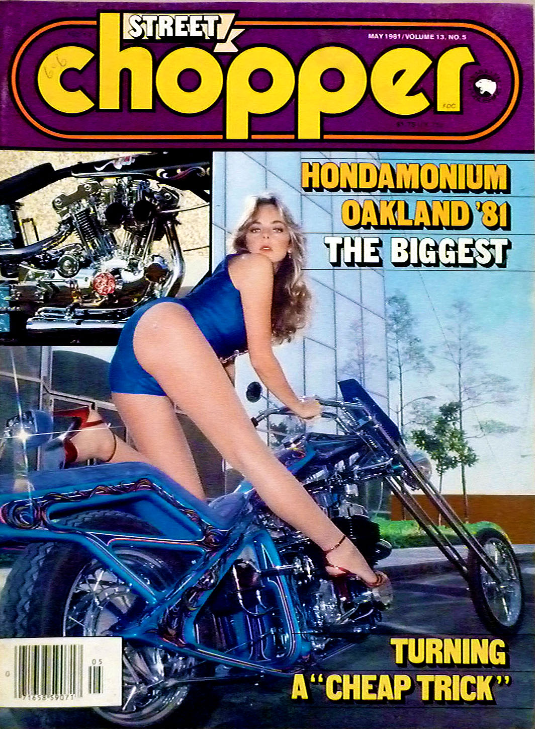 street chopper oakland california 1981
