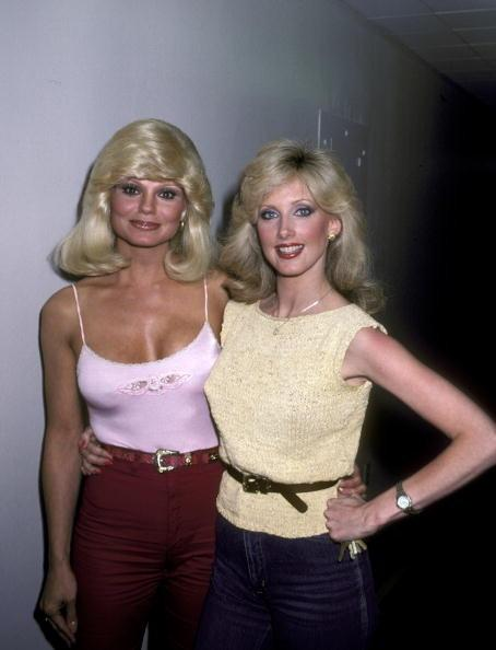 loni anderson and morgan fairchild blonde babes