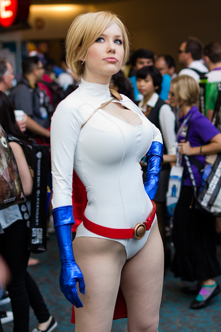 Busty cosplay white