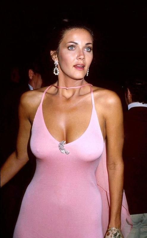 lynda carter in pink