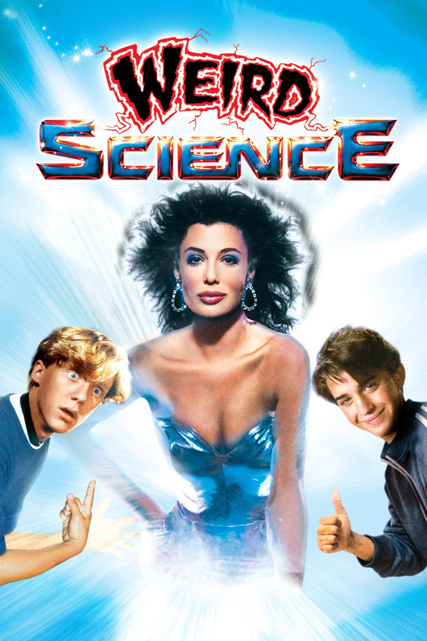 weird science poster 1980s kelly lebrock hot