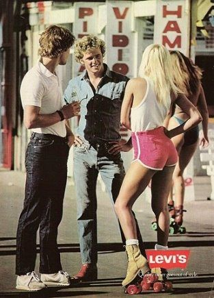 levi's ad retro nostalgia 1980s 80s 80sfashion