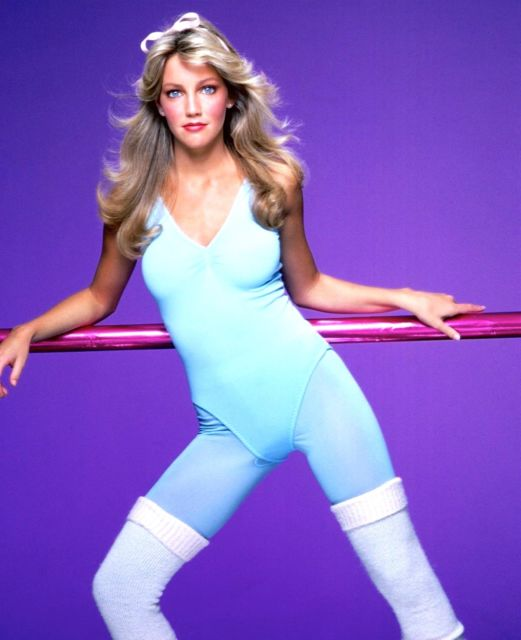 heather locklear prime workout time 1980s
