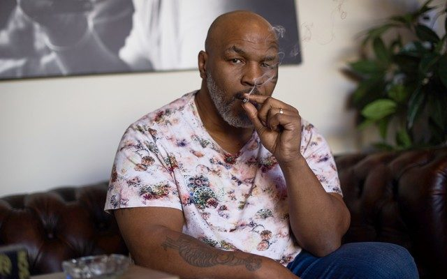 mike tyson weed cannabis marijuana joint smoking