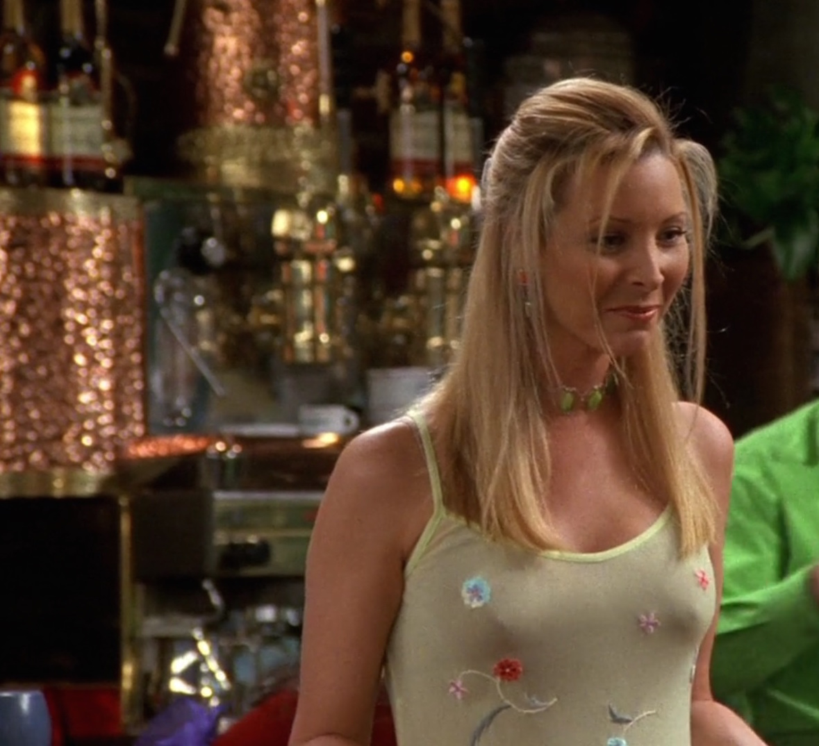 lisa kudrow on friends nipples cleavage hot babe blonde
